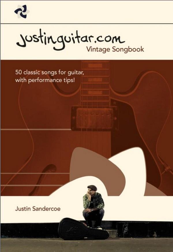 Justinguitar.com Vintage Book: lyrics/chords/tab