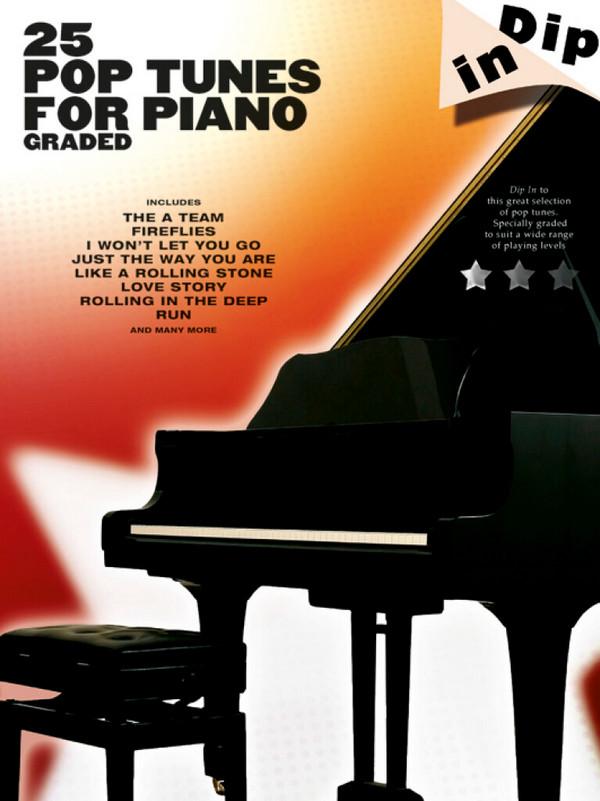 25 graded Pop Tunes: for piano