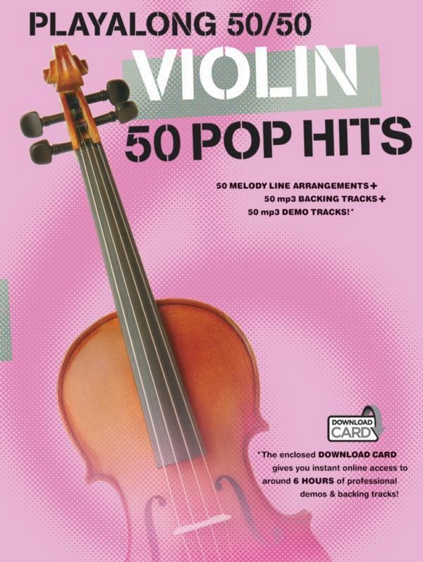 50 Pop-Hits (+Download-Card): for violin