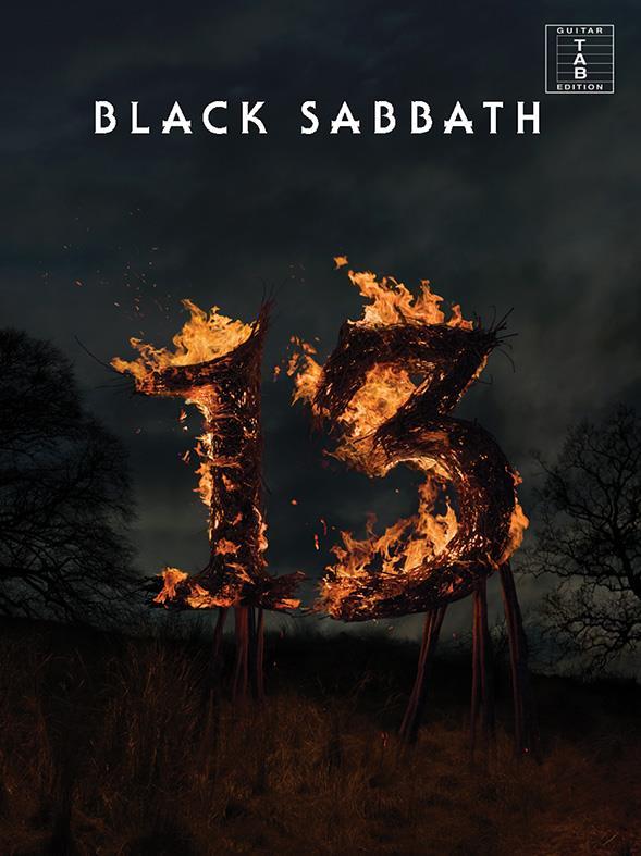 Black Sabbath: 13 songbook vocal/guitar/tab