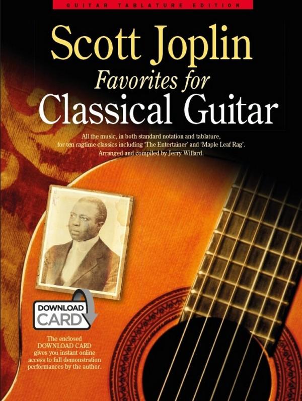 Scott Joplin Favorites (+Download): for classical guitar/tab