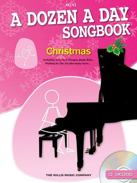 A Dozen A Day Songbook - Christmas Mini (+CD): for piano (with lyrics and teacher accompaniment)