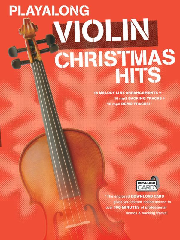 Christmas Hits (+download): for violin
