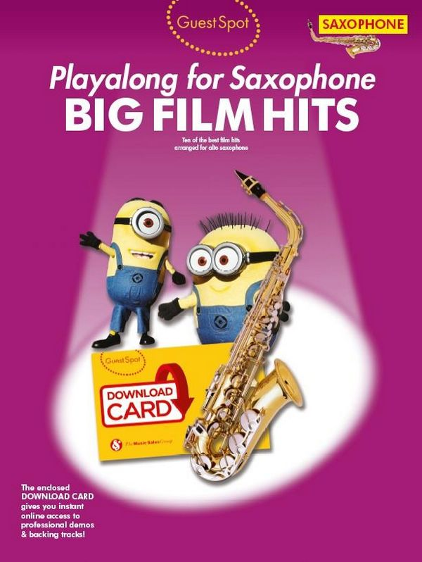 Big Film Hits (+Download): for alto saxophone
