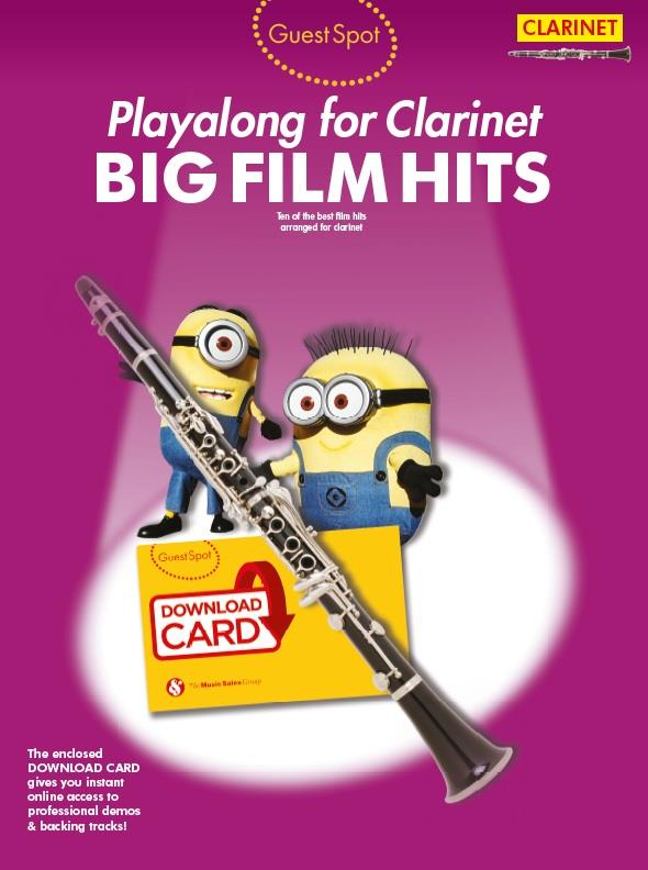 Big Film Hits (+Download): for clarinet