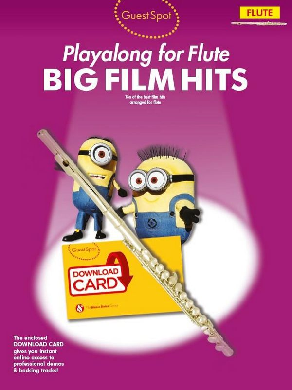 Big Film Hits (+Download): for flute
