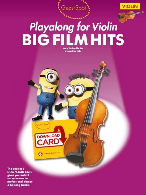 Big Film Hits (+Download): for violin