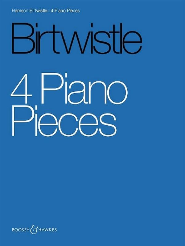 4 Piano Pieces: for piano
