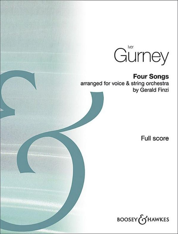 4 Songs: for voice and string orchestra