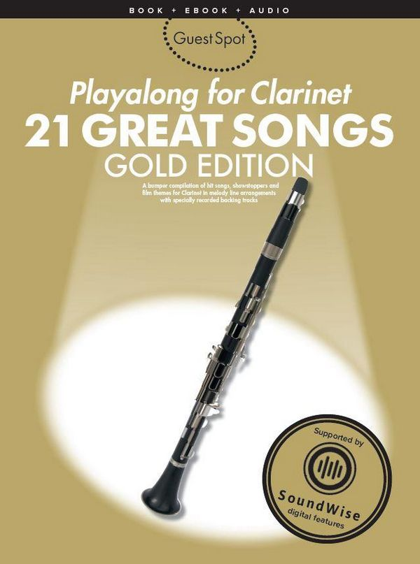 21 great Songs (+SoundWise): for clarinet