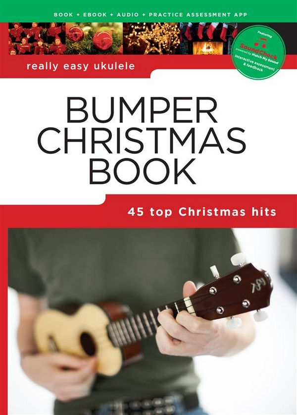 Bumper Christmas Book (+Soundcheck): for really easy ukulele melody/lyrics/chords)