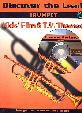 Discover the Lead (+CD): Kids Film and TV themes for trumpet