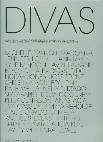 Divas: A collection of 33 songs for female vocalists Songbook for voice/piano/guitar