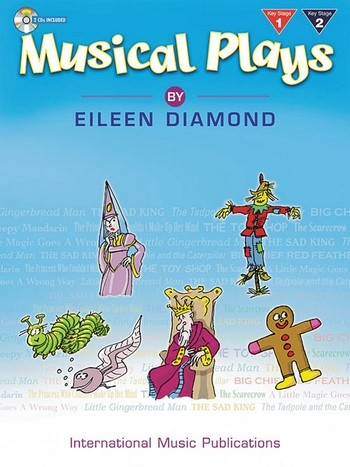 Musical plays by Eileen Diamond (+2CDs): for voice and piano