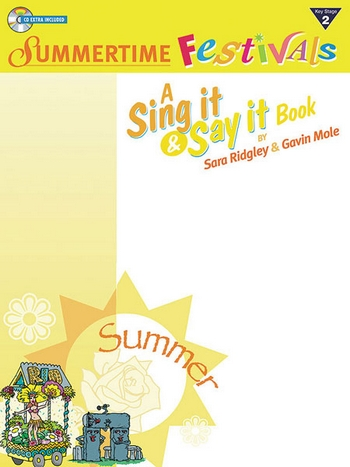 Summertime Festivals (+CD): A sing it and say it book