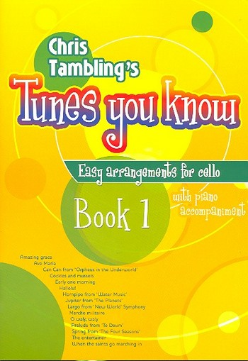 Tunes you know vol.1: for easy violoncello and piano