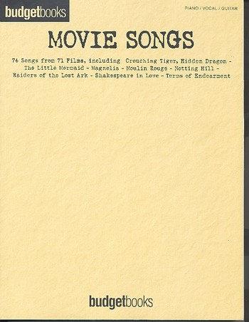 - Movie Songs : songbook for