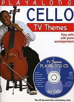 Playalong Cello (+CD): TV Themes for cello (easy) and piano