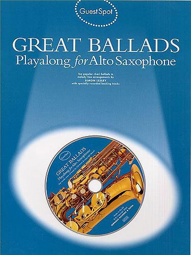 - Great Ballads (+CD) : for alto saxophone