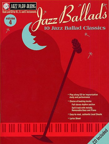 10 Jazz Ballad Classics (+CD): for Bb, Eb and C-Instruments