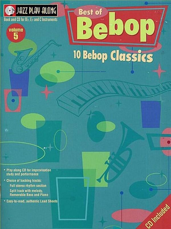 Best of bebop (+CD): for bb, es and c instruments