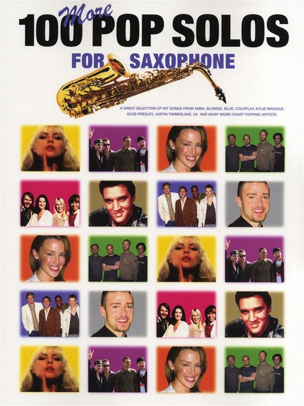 100 more Pop Solos: for saxophone with chord symbols