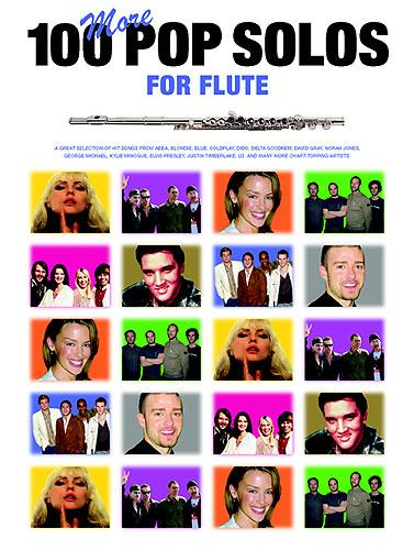 100 more Pop Solos: Songbook for flute solo