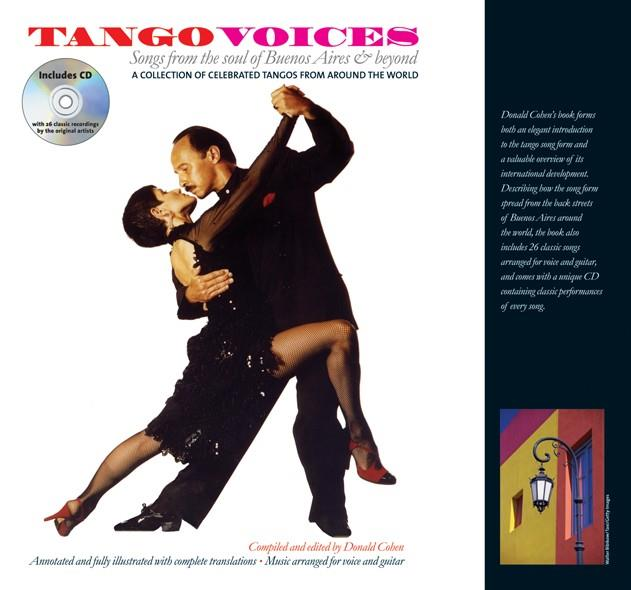 Tango voices (+CD) Songbook Vocal/Guitar