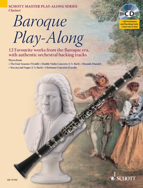 - Baroque Playalong (+CD) : für Klarinette