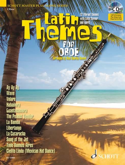 Latin Themes (+CD): für Oboe (Klavierbegleitung als PDF zum Ausdrucken)