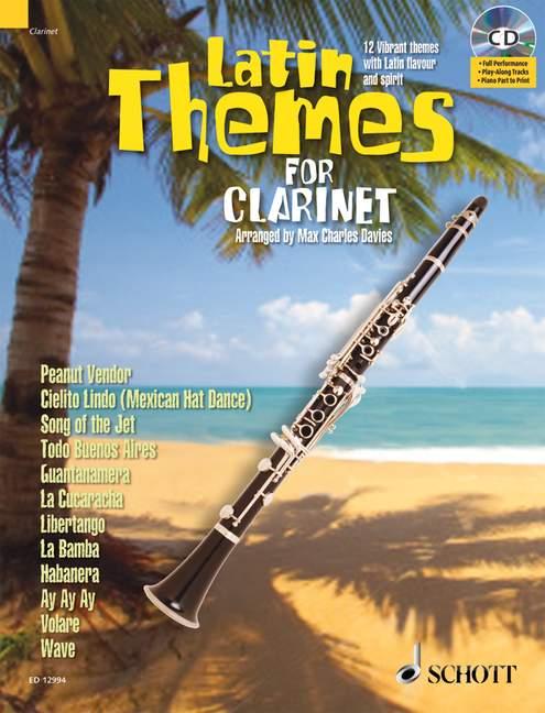 Latin Themes (+CD): für Klarinette (Klavierbegleitung als PDF zum Ausdrucken)
