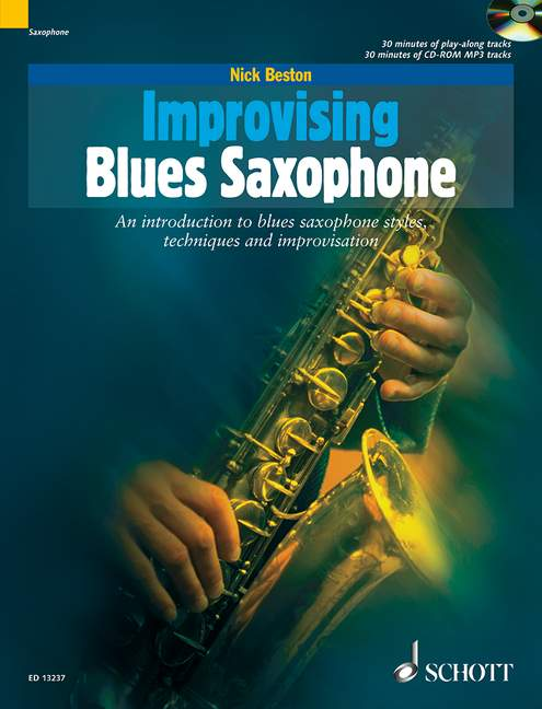 Improvising Blues Saxophone (+CD)