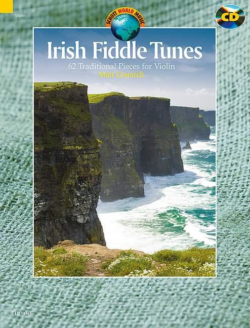 - Irish Fiddle Tunes (+CD) : for violin