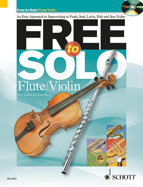 Free to solo (+CD): for flute (violin)
