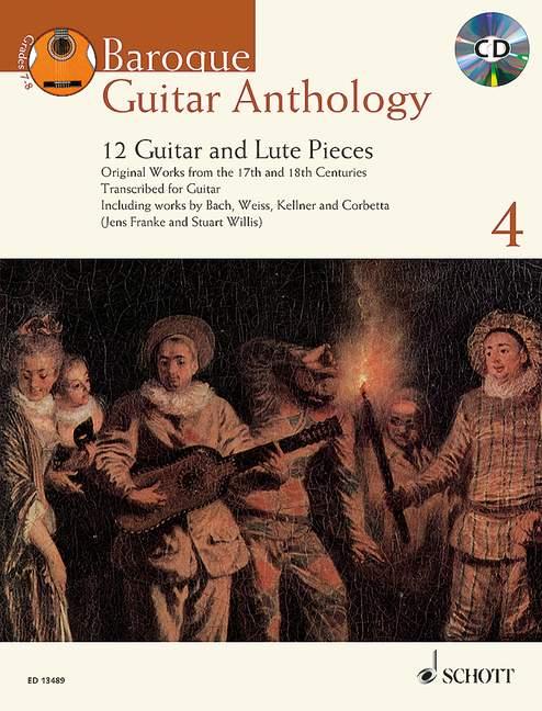 - Baroque Guitar Anthology vol.4 (+CD) :