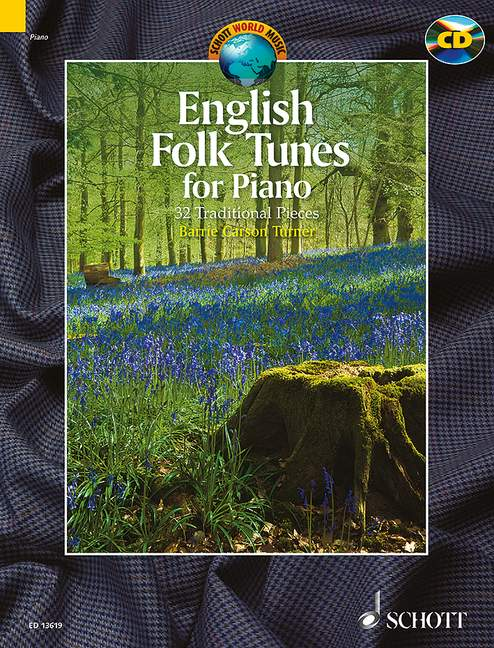 English Folk Tunes (+CD): für Klavier