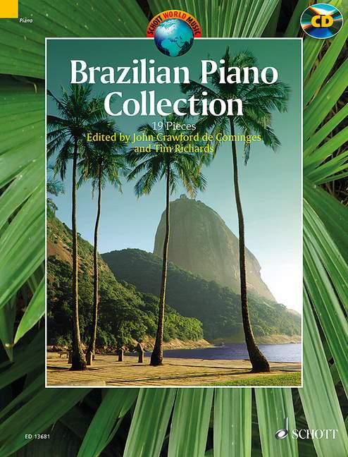 Brazilian Piano Collection (+CD): for piano