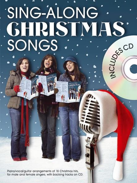 Sing-Along Christmas Songs (+CD): songbook piano/vocal/guitar