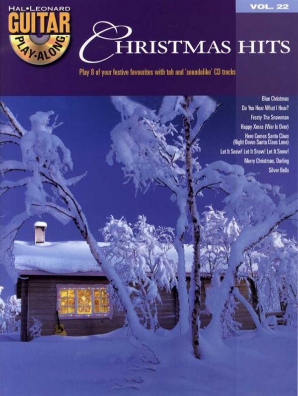 Christmas Hits (+CD): guitar playalong vol.22