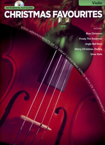 Christmas Favourites (+CD): for violin