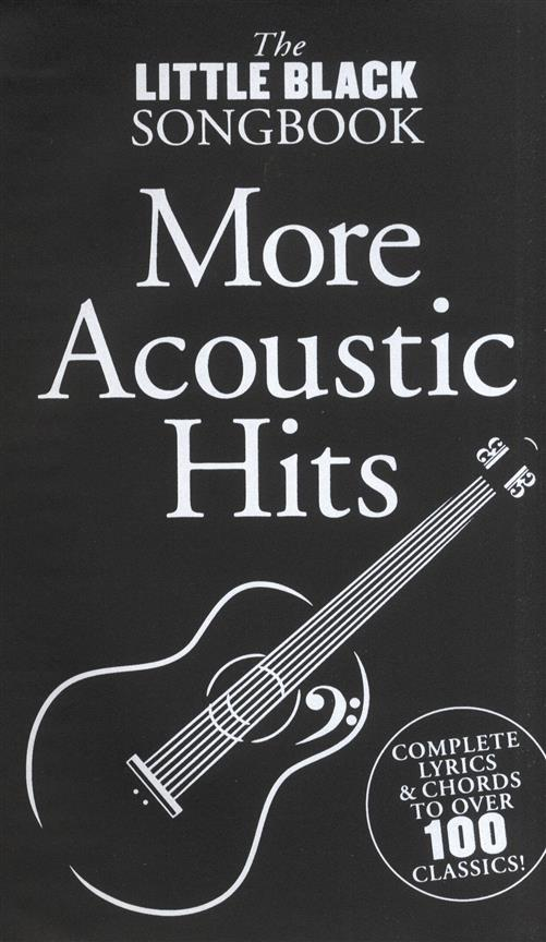 - More Acoustic Hits : The little black Songbook