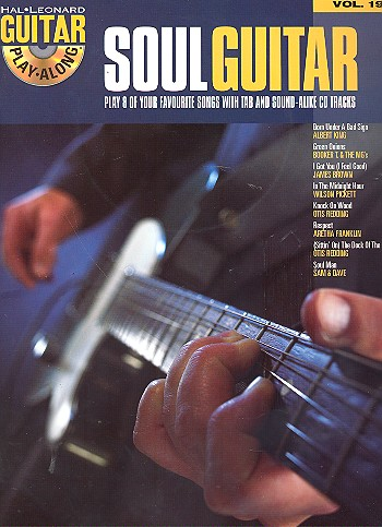 Soul Guitar (+CD): guitar playalong vol.19 songbook vocal/guitar/tab