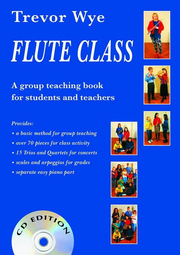 Flute Class (+CD) with easy piano part
