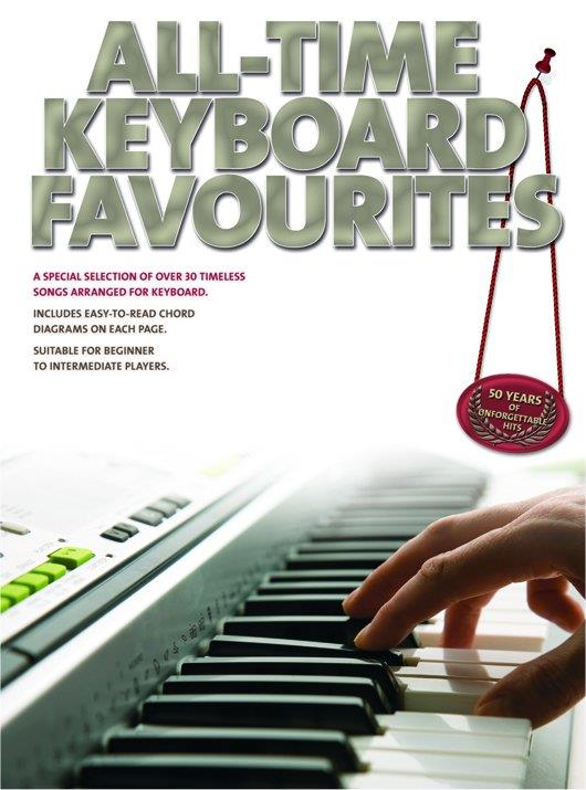All-time Keyboard Favourites: for keyboard (with text)
