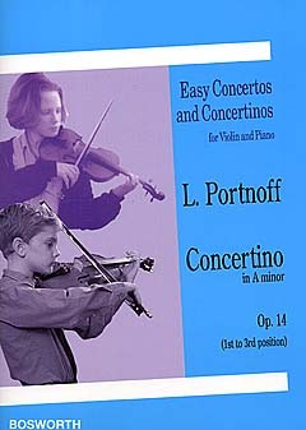 Concertino a-Moll opus.14: für Violine und Klavier