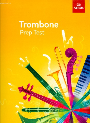 Trombone Prep Test 2017+: for trombone bass clef and piano