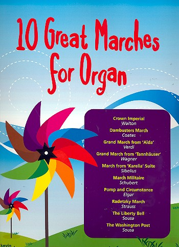 10 great Marches: for organ