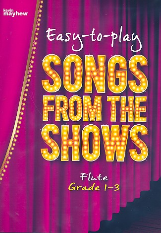 Songs From The Shows: for flute and piano