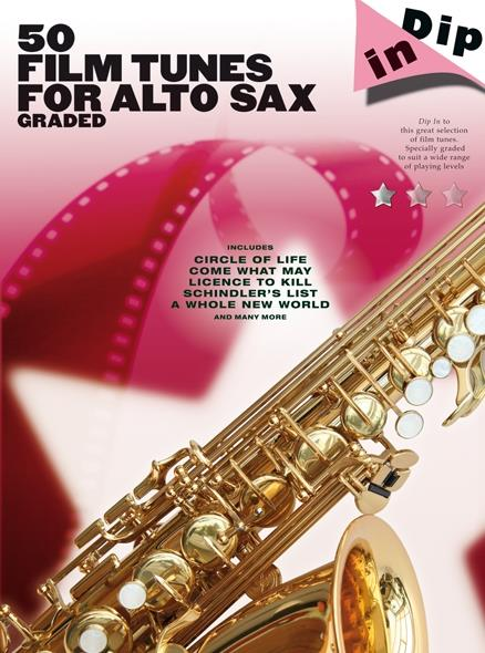 50 Film Tunes: for alto saxophone