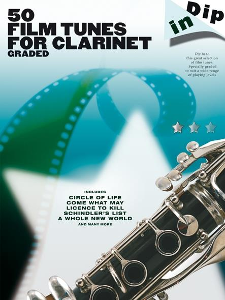 50 Film Tunes: for clarinet